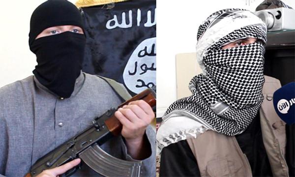 Yihadistas de ojos azules